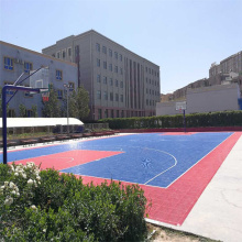 Leading for Outside Multi-Use Court Tiles Double layer Basketball court tiles export to Nicaragua Manufacturer