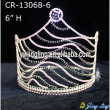Rhinestone Zebra Pageant Crowns For Sale