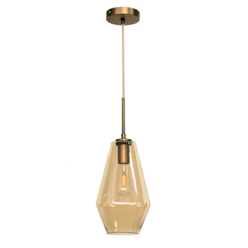 Glass Vintage Pendant Lamp for Hotel Hanging Lighting