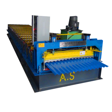 corrugated metal steel sheet rolling machine price