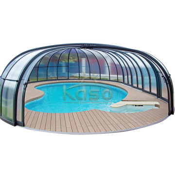 High Quality for Polycarbonate Swimming Pool Enclosures Swimming Type Of Pool Cover For Inground Pool export to Sri Lanka Manufacturers