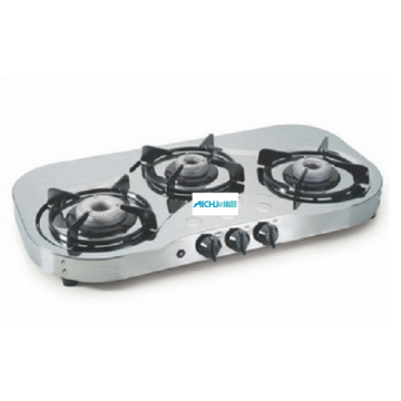 SS Gas Stove High Flame Auto Ignition