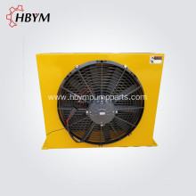 Hot sale for Sany Spare Parts,Plunger Cylinder,Ball Cup Manufacturers and Suppliers in China Sany Concrete Pump Spare Parts Cooler Hydraulic Radiator export to Oman Manufacturer