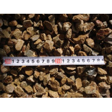 China Gold Supplier for for Decorative Stones Cheap Yellow Gravel Pebble Stone for Garden 10-30mm export to Italy Factory