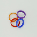 custom color universal polyamides pvc silicone ring