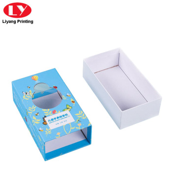 Packaging Cardboard Box for Gift with Window