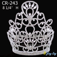 8 Inch Custom Rhinestone Crowns For Mom