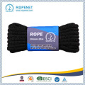 Black Double Braid Polyester Rope For Yachting