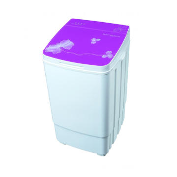 Purple Glass Cover 9KG Single Tub Washing Machine