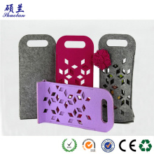 hot sale single felt wine bag