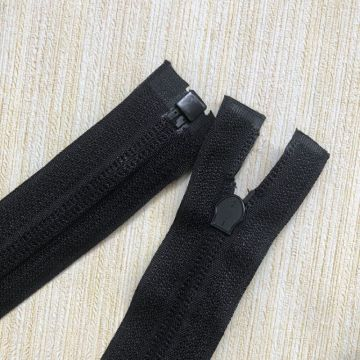 Best quality large nylon clothing zipper wholesae