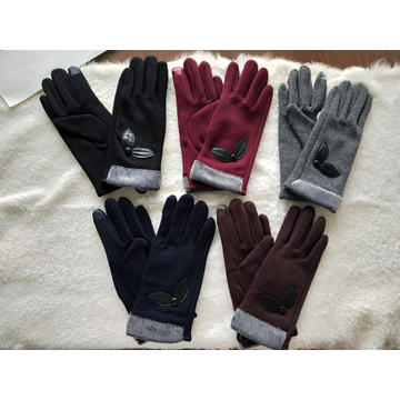 brand customized handmade warm glove