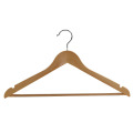 Hotel Logo Printed Wooden Clothes Hanger