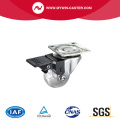 Plate Swivel Transparent Industrial Caster
