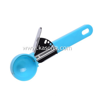 Plastic Trigger Ice Cream Cookie Scoop for Baking