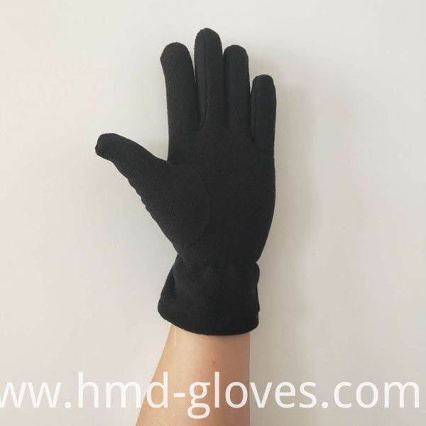 Anti Slip Warm Sports Polar Fleece Glove Palm