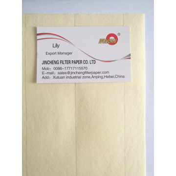 Light Yellow Air Filter Paper