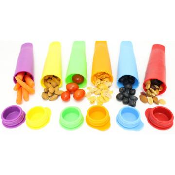 Wholesale Flexible Silicone Ice Pop Maker Mold