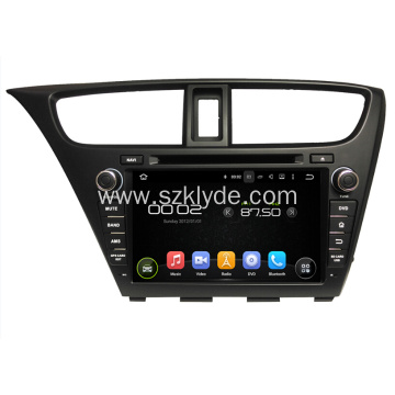Honda Car DVD GPS Player Per Civic Hatchback