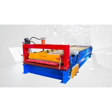 New 850 corrugated  steel roll forming machine