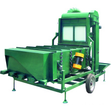 Soybean cleaning machine for beans sesame