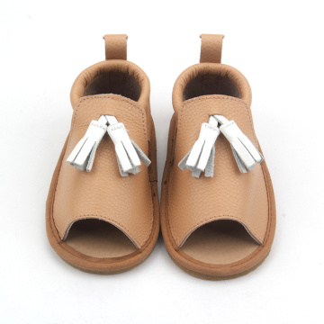 Children Sandal Shoes Kids Summer Leather Sandals