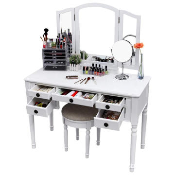 Mirrored Dressing Table Makeup Table Dressing