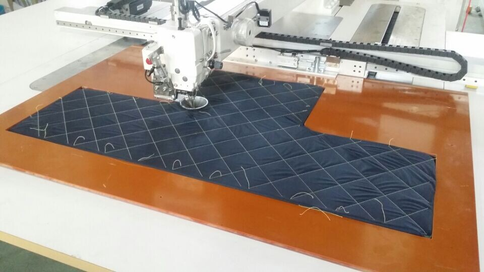 Extra Large Size Programmable Pattern Sewing Machine -Sewing Area (1200x900mm)