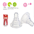 Feeding Accessories Infant Bottle Silicone Nipple Standard L