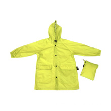 Women Hooded Waterproof Polyester Rain Jacket