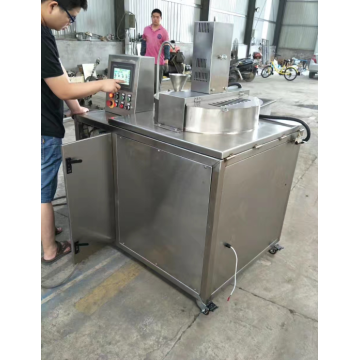 Hot oil popcorn machine with simple operate