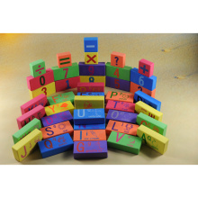 children's education EVA alphabet and numbers foam blocks