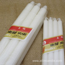 100% white stick household lighting candle