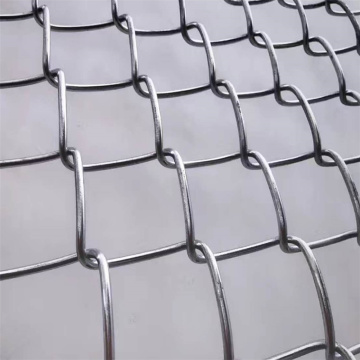Wholesale High Quality Diamond Galvanized Chain Link Fence/ Zoo Mesh Fence