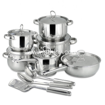 Private Label Stainless Steel Cookware Sets