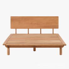 Supply for Oak Wood Furniture FAS Solid Wood Oak Flat Back Bed supply to Vietnam Manufacturers