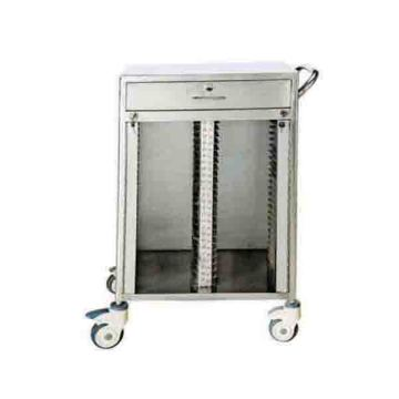 Stainless steel 50 lattice medical records folder