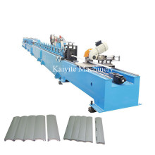 Aluminum 41 & 55 PU Shutter Door Machine