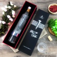 Gift Wine Paper Box with Bottle