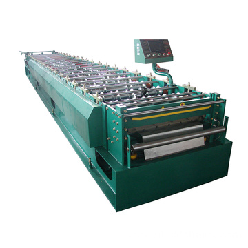 Hydraulic automatic galvanized double layer roll forming machine