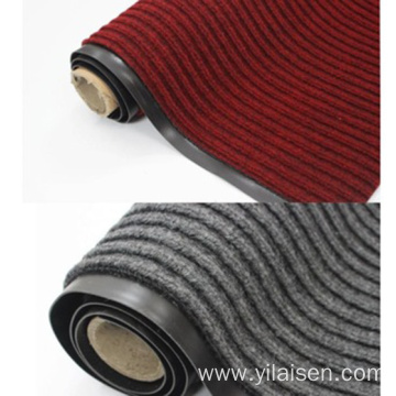 floor mat rolls designed with striped and ribbed
