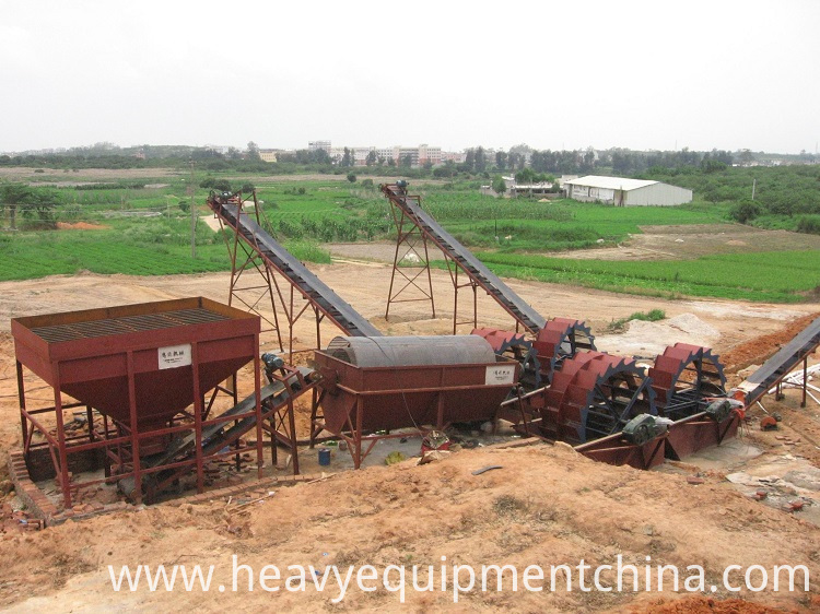 Sand Washing Processing Plant