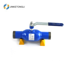 ball valve with turbine box welded type