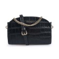 New Design Simple Crocodile Crossbody Small Square Bags