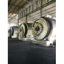 semi-automatic tyres/rubbers pyrolysis to fuel oil machine