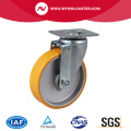 Medium 6 Inch 300Kg Plate Swivel TPU Caster