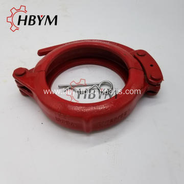 Special for Forged Concrete Pump Clamp Concrete Pump Spare Pares Forged Snap Clamp Coupling export to Heard and Mc Donald Islands Manufacturer