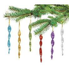 Factory Price for Glass Icicles Glass Icicle Hanging Christmas Tree Ornament Christmas Decorations export to Thailand Factory