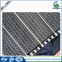 10 Years manufacturer for Chain Conveyor Mesh Belt mytext Stainless Steel Woven Conveyer Belt export to Greenland Manufacturer