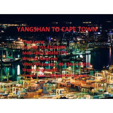 Shanghai Yangshan Sea Freight to South Africa Cape Town